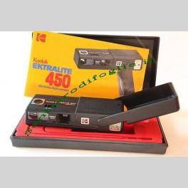kodak ektralite 450 fotocamera con flash vintage