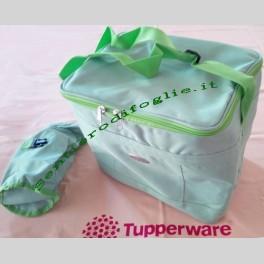 Borsa termica frigo Tiwi tupperware con portabottiglia per conservare