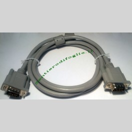 Cavo vga computer pc laptop monitor e234411 awm 2919 30v vw-1 14 pin