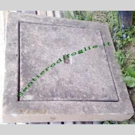 Coperchio per Pozzetto in Cemento 60x60 Chiusino Quadrato