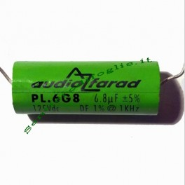 Condensatore poliestere pl.6g8 6.8uf az audiocomp