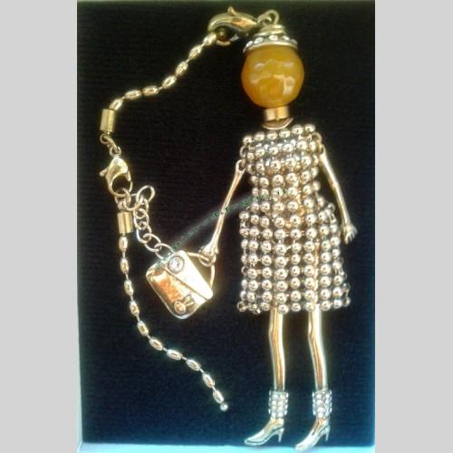 finest selection a75d8 670ef Collana Shopping Queen Pendente Bambola Vintage ...
