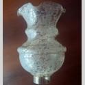 Coppa in Vetro Decorato per Lampadario Applique