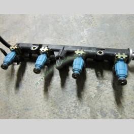 Flauto con Iniettori Bosh Carburante per Fiat Punto Seconda Serie