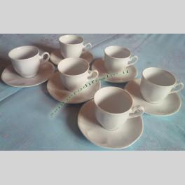 Servizio Tazzine da Caffe in Porcellana Kanton Insel