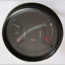 Strumento vdo livello carburante ed olio porsche 911 epoca 1978