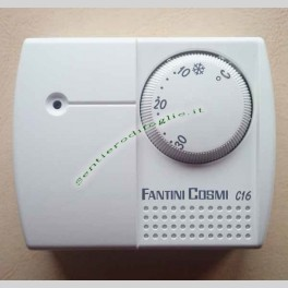 Termostato Meccanico Ambiente C16L Fantini Cosmi da Parete