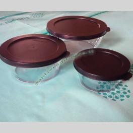 Set Ciotole Linea Essenziale Tupperware in Tritan
