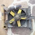 Radiatore Acqua con Ventola per Fiat Uno Fire 1000