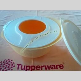 Ciotola Mescolatrice Fantasia Tupperware Gialla da 3,5 Litri
