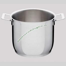 Pentola Acciaio Inox Pots&Pans Alessi Designer Jasper Morrison