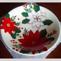 Centrotavola Dipinto a Mano Piatto Decorato in Ceramica