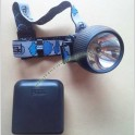 Lampada Frontale Alogena Petzl Zoom e22 Torcia Professionale