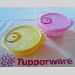 Contenitori Crystalwave Tupperware con Sigillo per Microonde 400ml e 600ml
