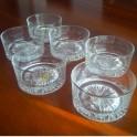 Set Bicchieri da Whisky e Liquori in Cristallo A.C. al Piombo 24% Lavorazione a Mano