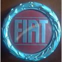 Logo Anteriore Fiat Ritmo Fregio Rosso Corona Alloro Auto Storiche