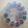 Set per Cucire da Viaggio con Rocchetti Bottoni Metro Aghi Spolette per Sarta