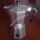 Caffettiera Bialetti Alpu Gat in Alluminio Pressofuso Moka Express Tradizionale Vintage