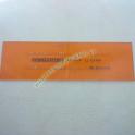 Normografi Caratteri Alfanumerici Disegno Tecnico Maschera Testo e Numeri