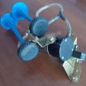 Kit Trombe Fiamm Serie 3000 Blu con Compressore e Staffa di Fissaggio Clacson