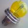 Lampadina Incandescenza Tungsram Asimmetrica Gialla 3 Poli R2 P45T 12v Luci Fari Anteriori