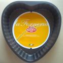 Tortiera da Forno Antiaderente a Cuore Stampo Torte Dolci e Salate Forneria Ballarini