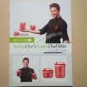 Ricettario Illustrato Turbo Chef Tupperware Collezione di Astuzie per Tritare e Frullare Alimenti