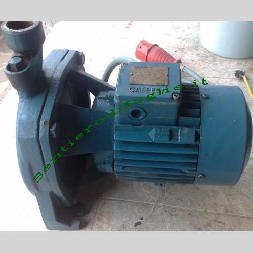 Elettropompa centrifuga monogirante trifase pompa per acqua - Sentierodifoglie, il mercatino ...