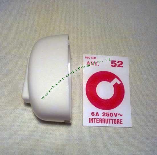 Interruttore bticino ovale da parete unipolare 250v 8a art - Mensola porta modem ...