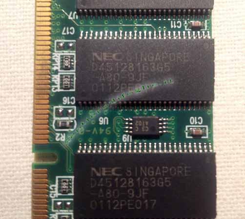 Memoria Ram 128 mb PC133 144 pin Dimm Nec Laptop