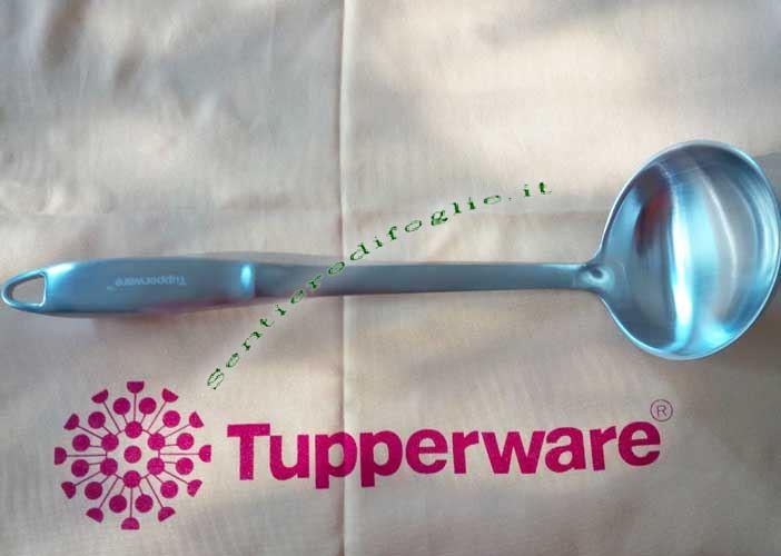 Mestolo Tupperware Acciaio Inox Satinato Senza Saldature Foro Appenderlo