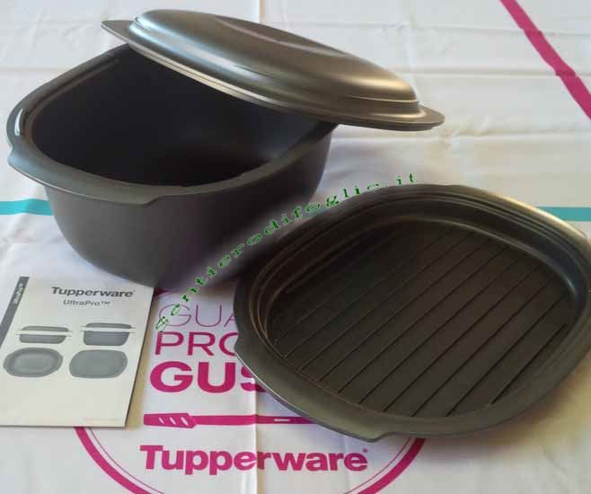 Set Ultrapro Piatto Tupperware Microonde