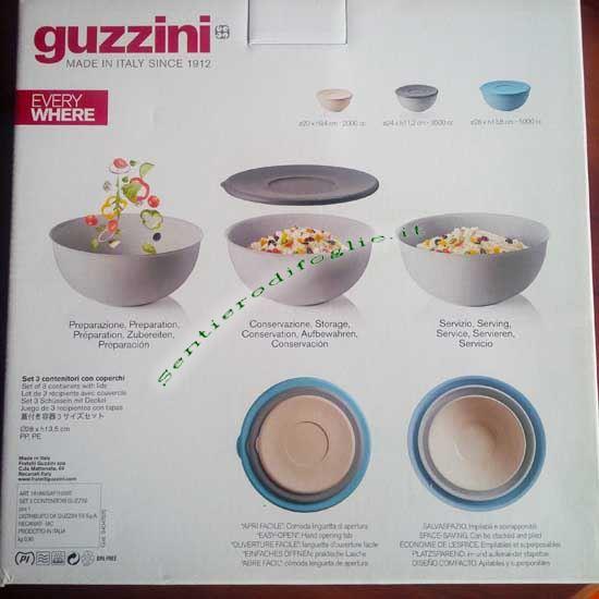 Set Tre Contenitori Everywhere Sigilli Colorati Fratelli Guzzini Conservare Servire Cucina