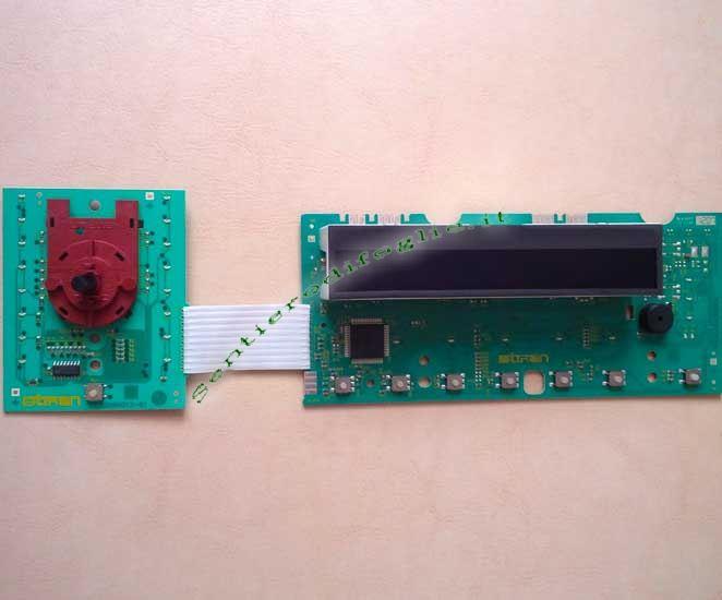 Componente Elettronico Display Lavatrici EUI10700BA 136620504 Aeg Rex Electrolux