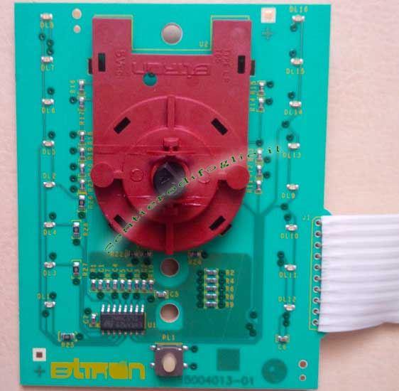 Scheda Display Lavatrice EUI10700BA 136620504 Aeg Rex Electrolux Pnc 91453112002