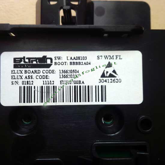 Scheda Elettronica Programmata Display Lavatrice Aeg Rex Electrolux Ricambio