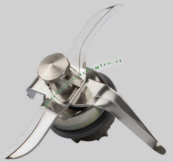 Lama Gruppo Coltelli Guarnizione Vorwerk Bimby Thermomix Acciaio Inox Ricambio Originale