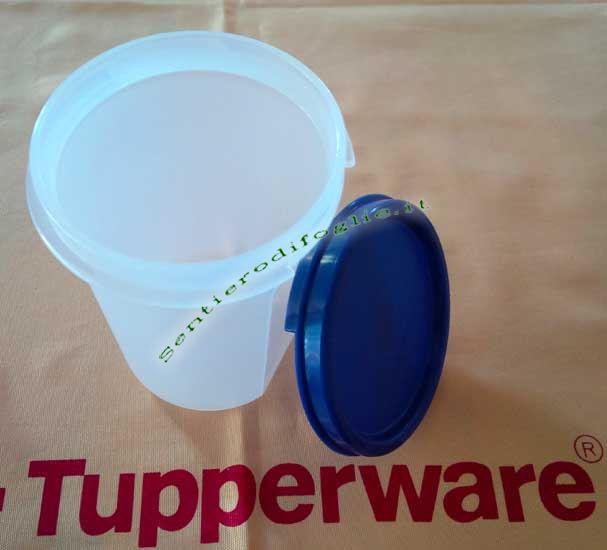 Contenitore Rotondo Tupperware 440ml Conservare Cucina Alimenti Dispensa Satinato