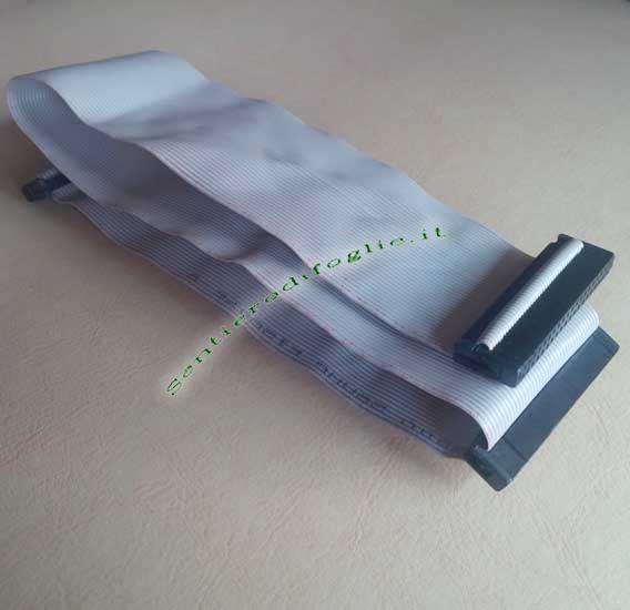Cavo Dati Nastro Piatto Idc 40 Pin Connettori Femmina Lian Yu Awm 2651 28awg E128076