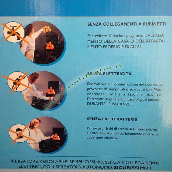 Dispositivo Automatico Irrigazione Goccia Acquagenius Umidita Terreno Vasi Piante Casa