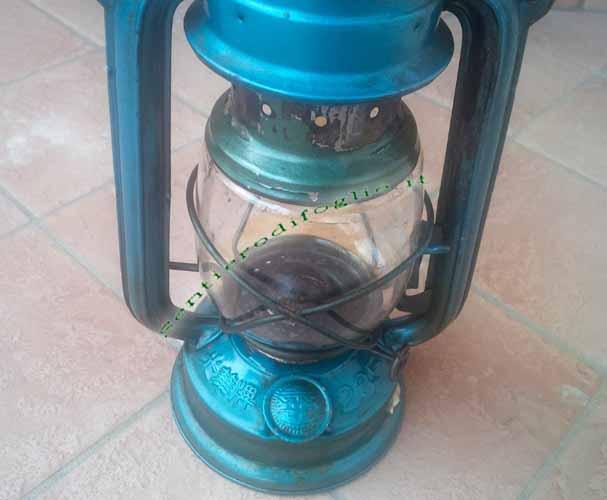 Lampada Petrolio Cherosene Olio Vintage