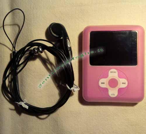 Mp3 Player Portatile 4Gb Radio Mp4 Giochi