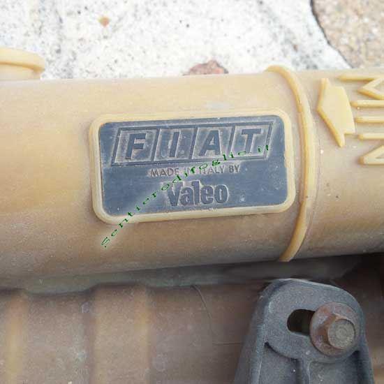 Kit Radiatore Acqua Elettroventola Completo Fiat Uno 45 Fire 1000 Originale Valeo 1983 1989