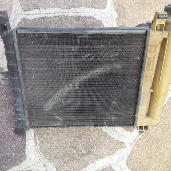 Radiatore Acqua Elettroventola Fiat Uno 45 Fire Originale Valeo Magneti Marelli 1983