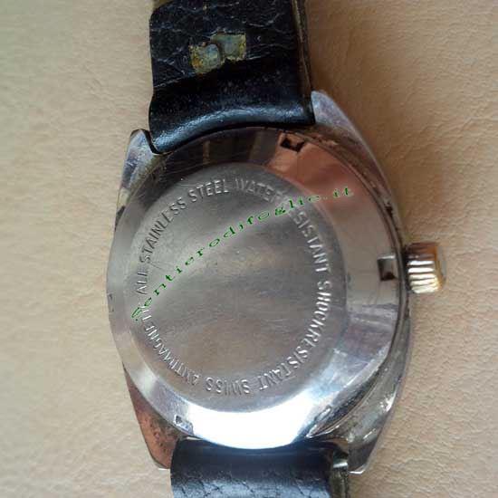 Orologio Polso Hoga 25 Jewels Antimagnetico Acciaio Inox Svizzero Vintage 1950