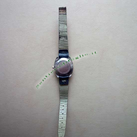 Orologio Polso Hoga 25 Jewels Antiurto Resistente Acqua Svizzero Vintage Anni 50