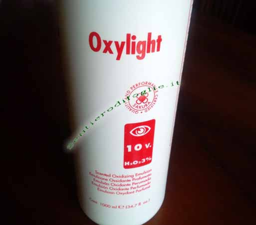Emulsione Ossidante Cremosa Perossido Idrogeno Sakura Cosmetics Ossigeno