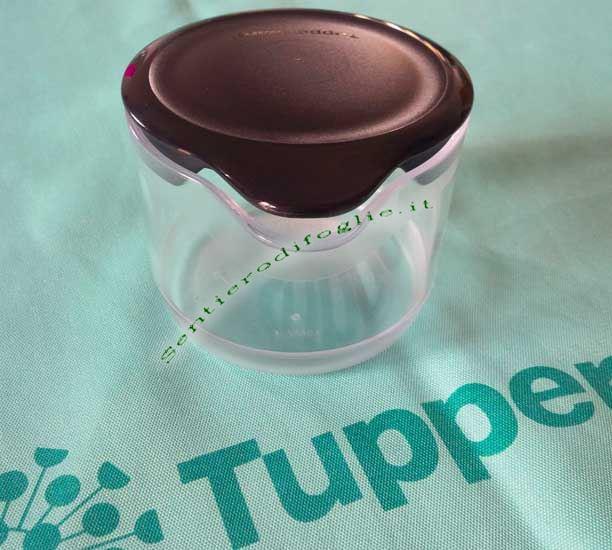 Cremino Zuccherino Tupperware Coperchio Impilabile Zucchero Latte Tavola