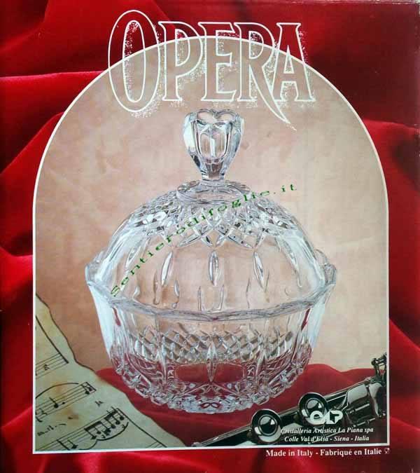 Centro Tavola Cristallo Cristalleria Rcr Opera