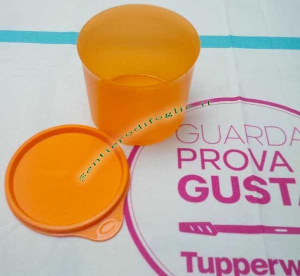 Barattolo Tupperware Arancione 500 ml Dispensa